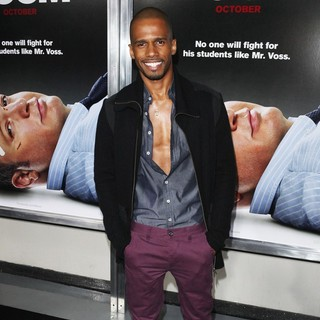 Eric West in Here Comes the Boom New York Premiere