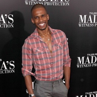 Eric West in Tyler Perry's Madea's Witness Protection New York Premiere