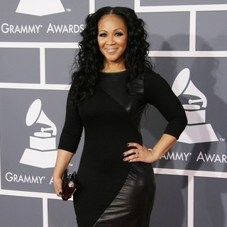 Erica Campbell, Mary Mary in 55th Annual GRAMMY Awards - Arrivals