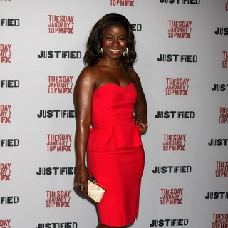 Erica Tazel in Justified Premiere Screening - Directors Guild of America