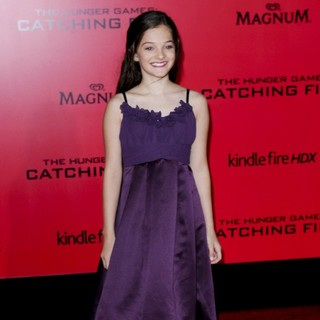 Erika Bierman in The Hunger Games: Catching Fire Premiere