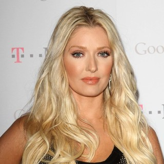 Erika Jayne in Celebrity Magenta Carpet Arrivals at The Launch Party for Google Music Available on T-Mobile