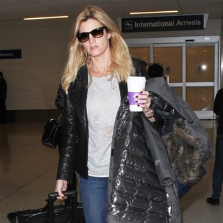 Erin Andrews at Los Angeles International Airport