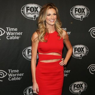 Erin Andrews in Time Warner Cable Presents The FOX Sports 1 Thursday Night Super Bash