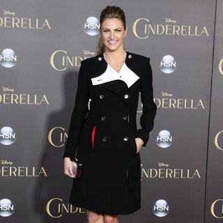 Erin Andrews in Los Angeles Premiere of Disney's Cinderella - Arrivals - erin-andrews-premiere-cinderella-02