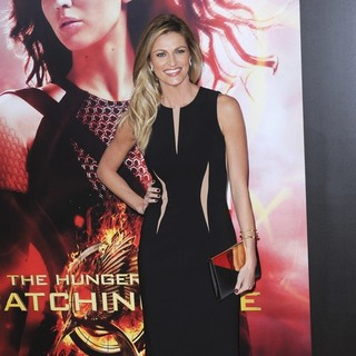 Erin Andrews in The Hunger Games: Catching Fire Premiere