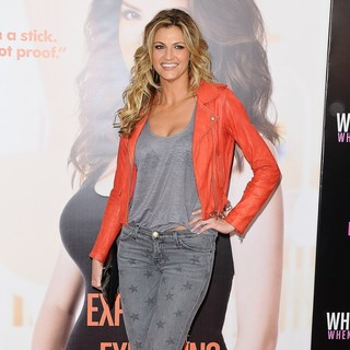 Erin Andrews in What to Expect When You're Expecting New York Premiere