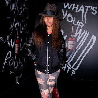 Erykah Badu in The Hennessy Wild Rabbit Campaign Launch Event - Arrivals