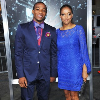 Arlen Escarpeta, Benita Krista Nall in The LA Premiere of Final Destination 5