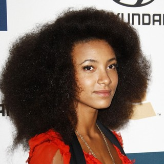 Esperanza Spalding in Clive Davis and The Recording Academy's 2012 Pre-GRAMMY Gala