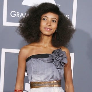 Esperanza Spalding in 54th Annual GRAMMY Awards - Arrivals