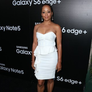 Essence Atkins in Samsung Celebrates The New Galaxy S6 Edge Plus and Galaxy Note5 - Arrivals