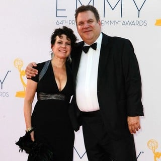Susie Essman, Jeff Garlin in 64th Annual Primetime Emmy Awards - Arrivals