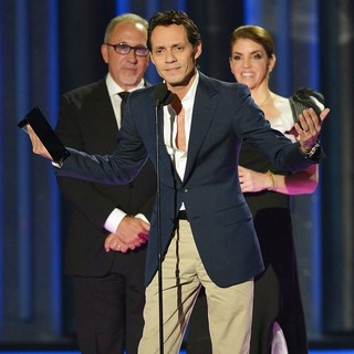 Emilio Estefan, Marc Anthony, Leila Cobo in Billboard Latin Music Awards 2012 - Show
