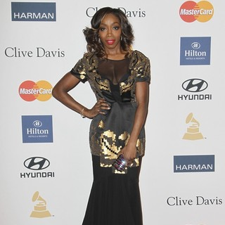 Estelle in Clive Davis and The Recording Academy's 2013 Pre-Grammy Gala and Salute to Industry Icons