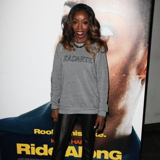 Estelle in Universal Pictures Premiere of Ride Along