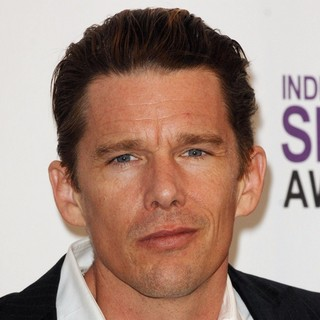 Ethan Hawke in 27th Annual Independent Spirit Awards - Press Room