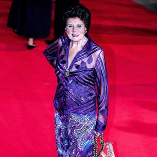 Eunice Gayson in World Premiere of Skyfall - Arrivals
