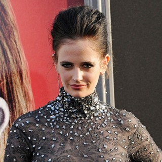 Eva Green in Dark Shadows Premiere