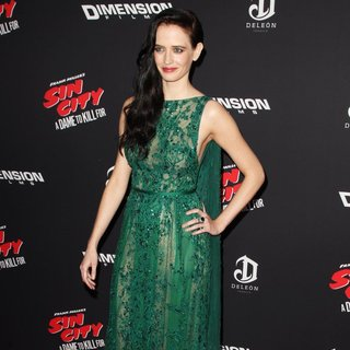Eva Green in Los Angeles Premiere of Sin City: A Dame to Kill For