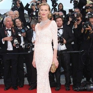 Eva Herzigova in Moonrise Kingdom Premiere - During The Opening Ceremony of The 65th Cannes Film Festival