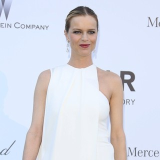 Eva Herzigova in 66th Cannes Film Festival - amfAR's 20th Annual Cinema Against AIDS - Arrivals