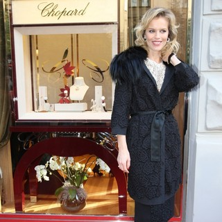 Eva Herzigova in The Official Opening of The Chopard Store