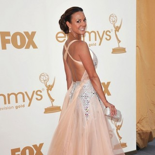 Eva La Rue in The 63rd Primetime Emmy Awards - Arrivals