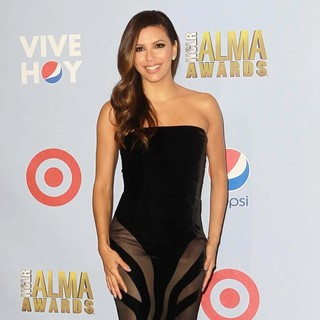 Eva Longoria in 2012 NCLR ALMA Awards - Press Room