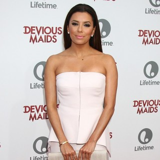 Eva Longoria in Devious Maids Premiere Party