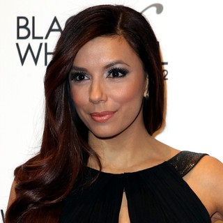 Eva Longoria in Black and White Ball Honoring Woman of The Year Eva Longoria