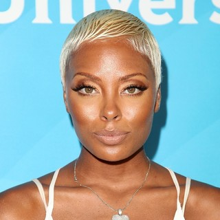 Eva Marcille in NBC Universal Press Tour