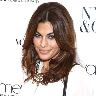 Eva Mendes Exclusively at New York and Company Launch Event