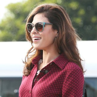 Eva Mendes for The Entertainment Show Extra