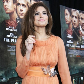 Eva Mendes in New York Premiere of The Place Beyond the Pines