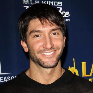 Evan Lysacek in The 4th Annual Holiday Christmas Tree Lighting Ceremony and The Opening of LA Kings