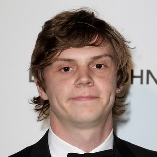 Evan Peters in 21st Annual Elton John AIDS Foundation's Oscar Viewing Party