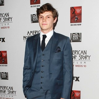Evan Peters in Premiere Screening of FX's American Horror Story: Asylum