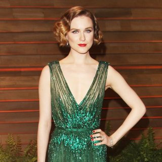 Evan Rachel Wood in 2014 Vanity Fair Oscar Party