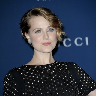 Evan Rachel Wood in LACMA 2013 Art and Film Gala Honoring Martin Scorsese and David Hockney Presented by Gucci