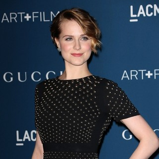 Evan Rachel Wood - LACMA 2013 Art and Film Gala Honoring Martin Scorsese and David Hockney Presented by Gucci