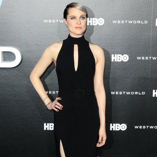 Evan Rachel Wood-HBO's Drama Series Westworld Premiere