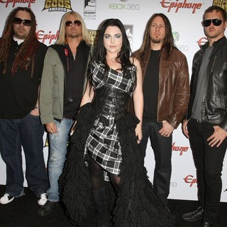 Evanescence in 2012 Revolver Golden Gods Awards Show