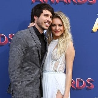 Morgan Evans, Kelsea Ballerini in 53rd Academy of Country Music Awards - Arrivals