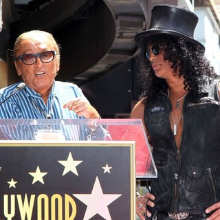 Robert Evans, Slash in Slash Honored with A Star on The Hollywood Walk of Fame