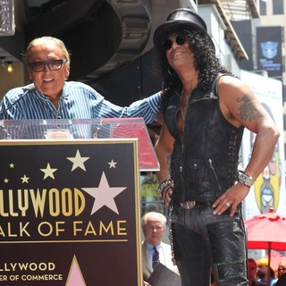 Slash - Slash Honored with A Star on The Hollywood Walk of Fame