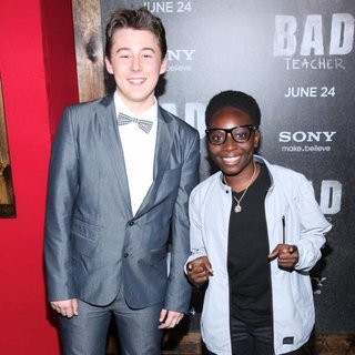 Matthew J. Evans, Adrian Kali Turner in World Premiere of Bad Teacher - Arrivals