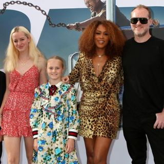 Eve in Fast and Furious Presents: Hobbs and Shaw Premiere