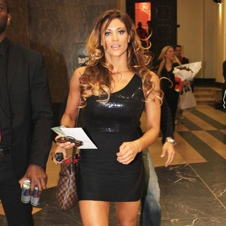 Eve Torres in WWE Superstars Attend A Signing Session