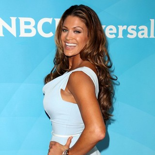 Eve Torres in NBC Universal Press Tour